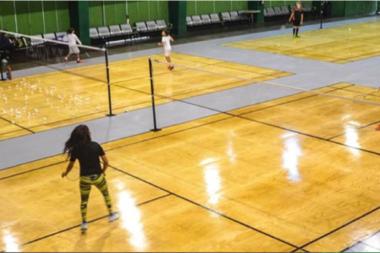 Canchas de Badminton