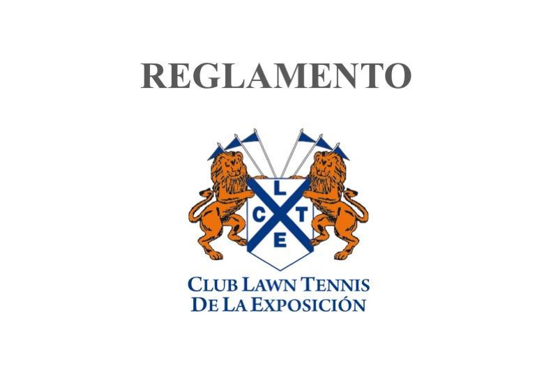 club lawn tennis reglamento