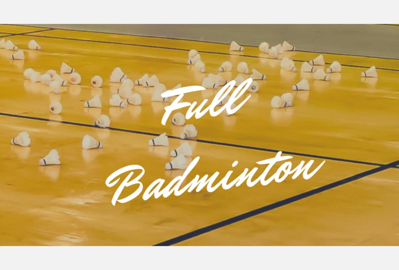 Full badminton